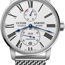 Ulysse Nardin Steel 42mm Automatic 1183-310-7MIL/40 new