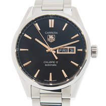 TAG Heuer Carrera Calibre 5 WAR201C.BA0723 new