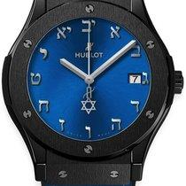 Hublot Classic Fusion Blue Ceramic 45mm Blue No numerals United States of America, New York, NEW YORK