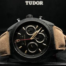 Tudor Fastrider Black Shield Ceramic 42mm Black