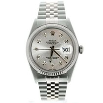 Rolex Datejust Steel 36mm Silver