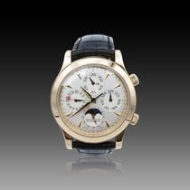 Jaeger-LeCoultre Master Memovox Red gold 41mm Silver No numerals