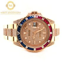 Rolex Rose gold Automatic 40mm new GMT-Master II