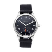 NOMOS Club Automat Datum Steel 41.5mm Blue Arabic numerals United States of America, Pennsylvania, Bala Cynwyd