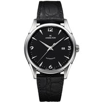 Hamilton Thin-O-Matic H38715731 New Steel 42mm Automatic