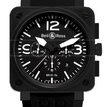 Bell & Ross BR 01-94 Chronographe Steel 54.7mm Black United States of America, New York, Brooklyn