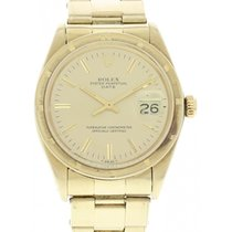 Rolex Oyster Perpetual Date 18k YG 1500
