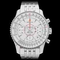 Breitling Montbrillant Chronograph Stainless Steel Gents...