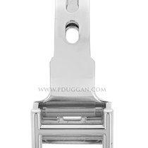 Cartier 18k white gold deployant buckle. Size 14mm.
