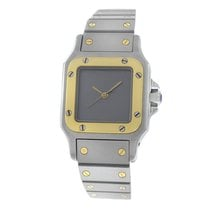 Cartier Authentic Ladies  Galbee 24MM Steel 18K Yellow Gold
