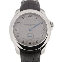 Ludovic Ballouard Upside Down 41 Hand Wound Grey Dial
