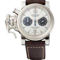 Graham 2CFAS.S06A.L31B Chronofighter Mens Automatic in Steel -...