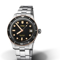 Oris Divers Sixty Five 01 733 7747 4354-07 8 17 18 Oris DIVING SIXTY-FIVE Acciaio new