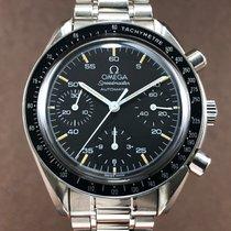 Omega Speedmaster Tachymeter Chronograph Black Dial Men's Watch