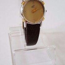 ZentRa DE Z Damenuhr Lady watch cal FHF 3 69  mit Steinen Gold...