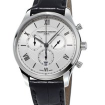 Frederique Constant Classics Chronograph Staal 40mm Zilver Romeins Nederland, Den Haag