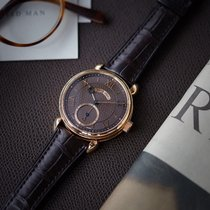 Voutilainen Vingt-8 | Cal. 28 | full set | brown dial | rose gold