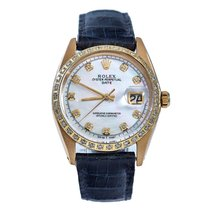 Rolex Oyster Perpetual Date Yellow gold 34mm No numerals
