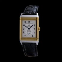 Jaeger-LeCoultre Reverso (submodel) Gold/Steel 26mm White Arabic numerals