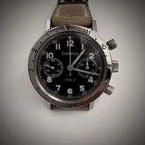 Dodane Acier 38mm Remontage manuel F Dodane Chronograph Flyback  Type 21 - 1974 - occasion Belgique, Ixelles