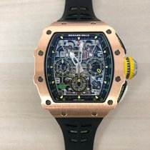 Richard Mille RM 011 Rose gold 44.50mm Arabic numerals United States of America, New York, New York