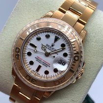Rolex Yacht-Master (Submodel) pre-owned 29mm Yellow gold