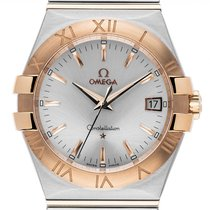 Omega Constellation Quartz 123.20.35.60.02.002 nuevo