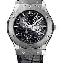 Hublot Classic Fusion Ultra-Thin pre-owned 42mm Transparent Crocodile skin