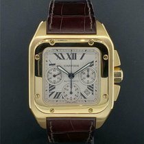 Cartier Santos 100 41mm White United States of America, New York, New York