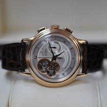 Zenith El Primero Chronomaster pre-owned 40mm Silver Chronograph Leather