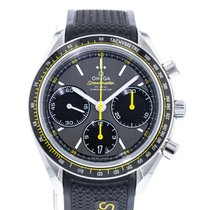 Omega Speedmaster Racing pre-owned 40mm Grey Rubber