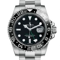 Rolex GMT-Master II Steel 40mm Black No numerals United States of America, New Jersey, Woodbridge