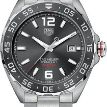 TAG Heuer Formula 1 Calibre 5 Steel 43mm Grey United States of America, New York, Airmont