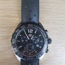 TAG Heuer Formula 1 Quartz Acier 43mm Noir Arabes France, Sancy