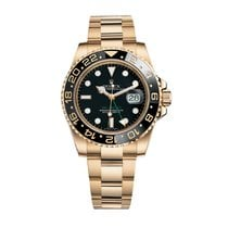 Rolex GMT-Master II Yellow gold 40mm Black No numerals United States of America, New York, NEW YORK