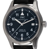 IWC Pilot Mark Steel 38mm Black Arabic numerals United States of America, Texas, Austin