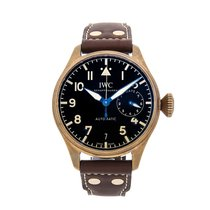 IWC Big Pilot pre-owned 46.2mm Black Date Leather