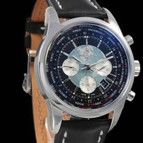 Breitling Transocean Chronograph Unitime Steel 46mm Black No numerals United States of America, South Dakota, Rapid City