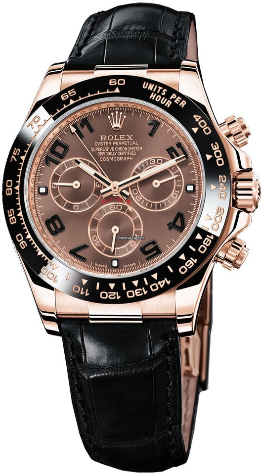 084f192144c Rolex Daytona Everose Gold - Leather Strap for Price on request for ...