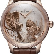 Jaquet-Droz Les Ateliers D' Art Rose gold 41mm Mother of pearl United States of America, New York, Airmont