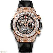 Hublot Big Bang 45 mm Unico 18K King Gold 176 Diamonds and...
