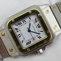 Cartier Santos Automatique Stahl-Gold