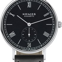 NOMOS Ludwig Automatik Steel 40mm Black United States of America, New York, Airmont