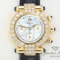 Chopard Imperiale Gelbgold 750 Diamanten Brillanten Chronograph