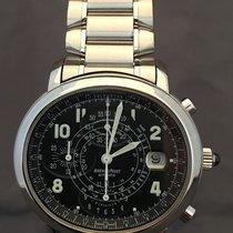 Audemars Piguet Millenary Chronograph Staal 40mm Zwart Arabisch