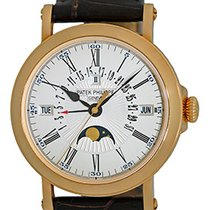 "Patek Philippe Gent's 18K Yellow Gold  # 5159-J ""Perpe..."