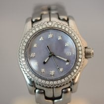 TAG Heuer Professional Quarz Damenuhr Diamant Lünette &...