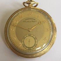 IWC Relógio usado 1931 Ouro amarelo 47mm Árabes Corda manual Só o relógio