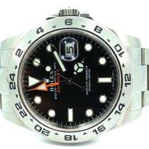 Rolex Explorer II Black dial date 42mm automatic watch 216570