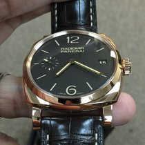 Panerai Radiomir 1940 3 Days PAM00515 Panerai RADIOMIR Oro Rosso Marrone Data 47mm new